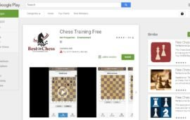 Développement d'application Mobile Chess Training Free