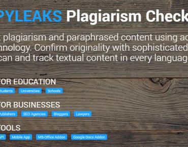 logiciel anti-plagiat CopyLeaks